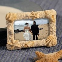 Beach Shell Themed Place Card / Photo Holder
